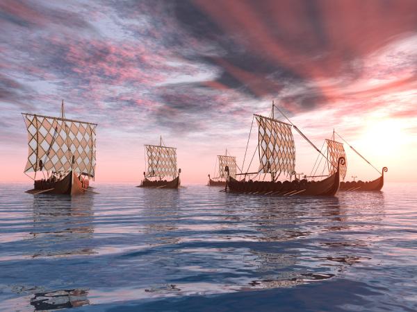 okręty, wikingów - 10366577