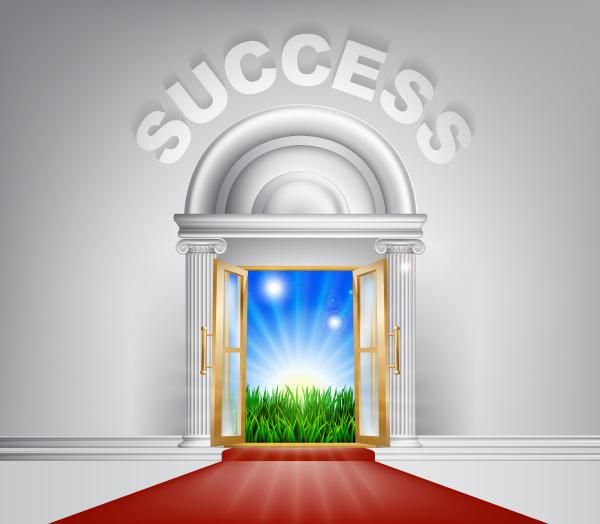 koncepcja drzwi sukcesu