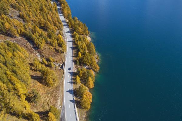 szwajcaria kanton gryzonia sankt moritz widok