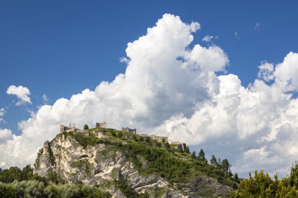 ruiny griffen w regionie karynka austria