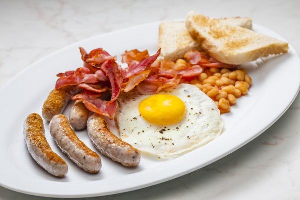 martwa natura angielskiego sniadania