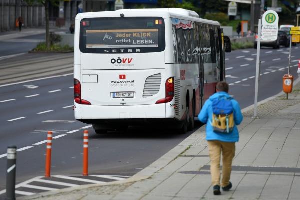 bus des verkehrsverbundes w linzu oberoesterreich