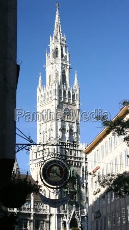 miasto grod town bayern bawaria monachium
