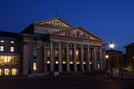 teatr, narodowy, w, monachium - 218695