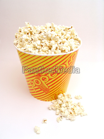 wiadro napiecie kukurydza cukrowa napoje pelny