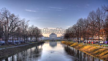 drzewo drzewa park turystyka kanal bayern