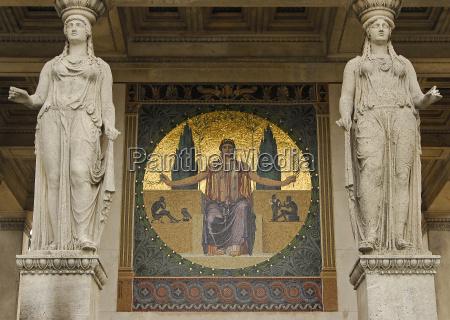 sztuka antyk turystyka obraz zloty monachium