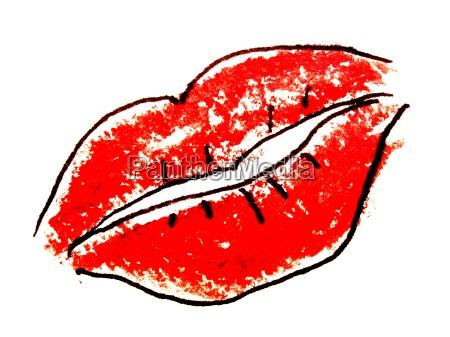 kobieta womane baba usta geba buzi