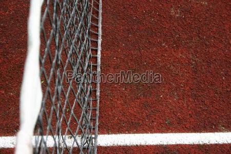 kort tenisowy boisko do gry net