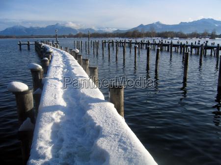 niebieski gory zima zimowy fale biel