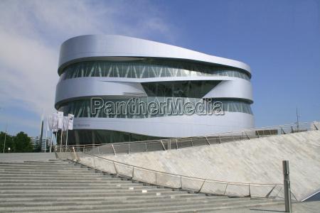 muzeum stal stalowe fasada patrzec widok