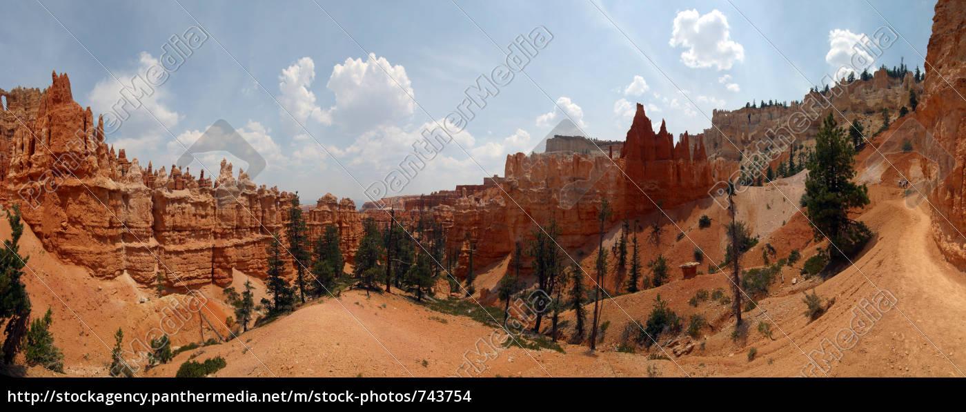 bryce, canyon, nationalpark, panorama - 743754