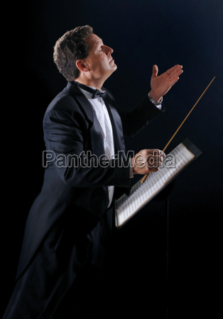 conductor laterally