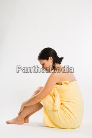 kobieta womane baba relaks spokoj silence