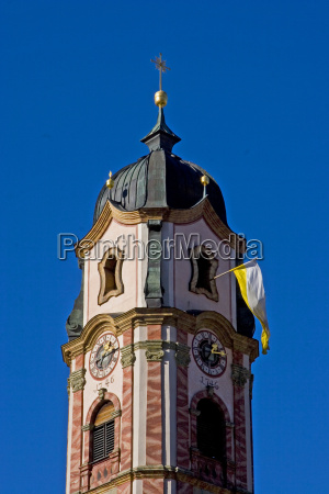 parish church in mittenwald