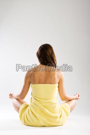 kobieta womane baba medytacja medytacje spokoj