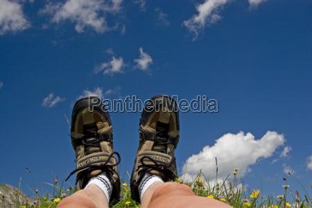 stopy obuwie turystyczne chmura almwiese lamac