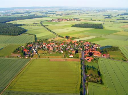 polnocna niemiecka wioska