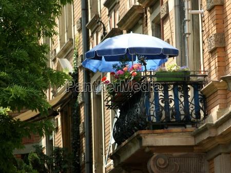 city oasis art nouveau balkon