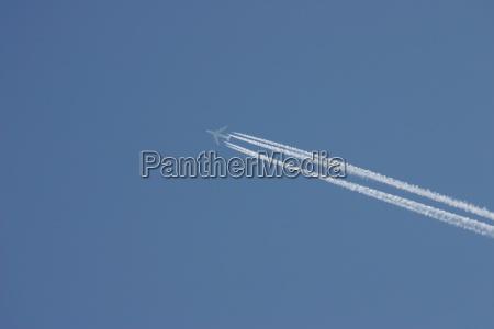 niebieski rugia firmament niebo sklepienie samoloty