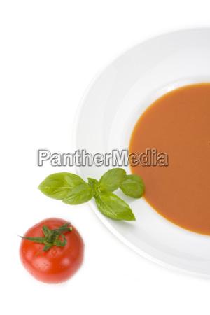 homemade zupa pomidorowa