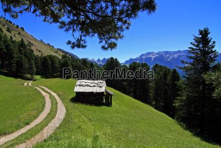 sciezka gora krajobraz natura zlozyc chata
