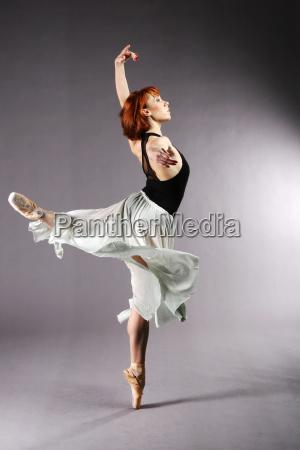 tancerz baletowy pozowanie