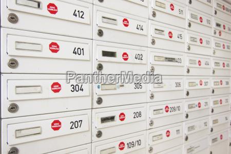 komunikacja skrzynka na listy poczta skrzynek