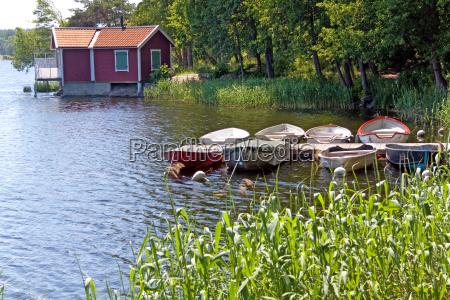 mala wyspa w archipelagu sztokholmskim vaxholm