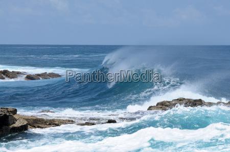 skaly skala atlantyk morskich morze ocean