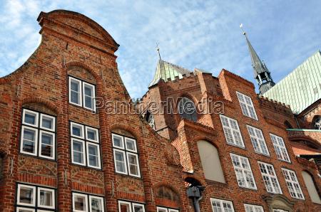 luebeck brick gothic glockengiesserstr