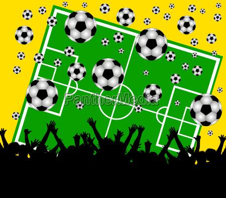 sport sporty oznakowanie spielfeld trawnik laka