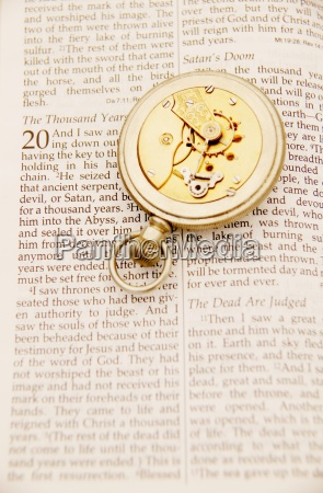 inside of pocket watch on the