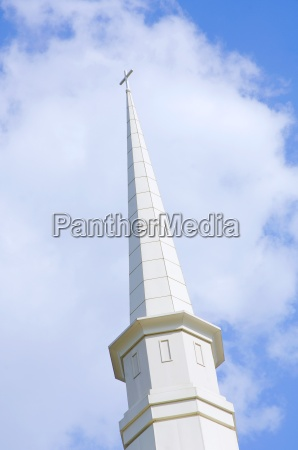 a church steeple