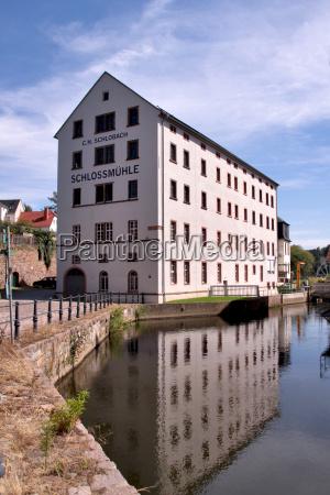 wody reflection mlyn mulde aqua wodne