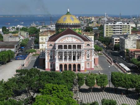 amazonas, teatr, manaus, brazylia - 2250721