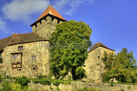 historia warownia zamek sredniowiecze medieval lichtenberg