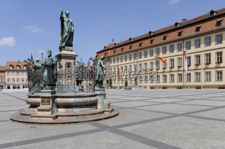 bamberg old town hall square