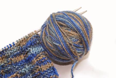 welna dzianina robotka reczna knitting narzedzia