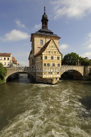bamberg altstadt old city hall