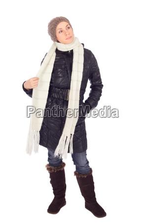 pretty woman winter fashion