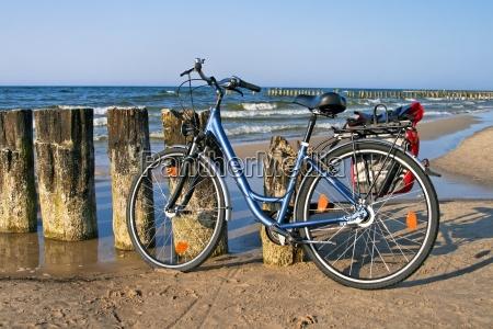 rower i morze