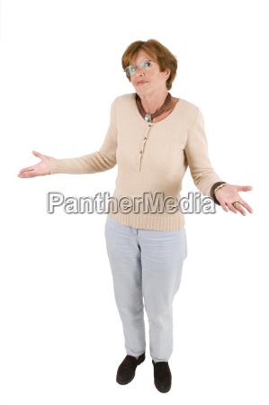 kobieta womane baba emocje zaklopotany