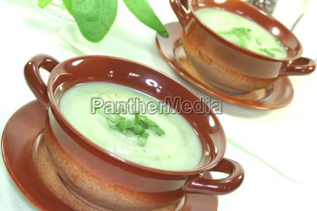 wild herb soup