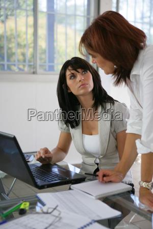 profil biuro kobieta womane baba kobiety