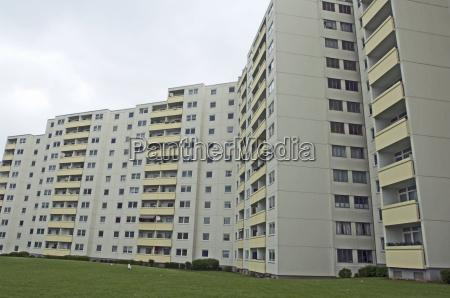 housing construction in kiel mettenhof germany