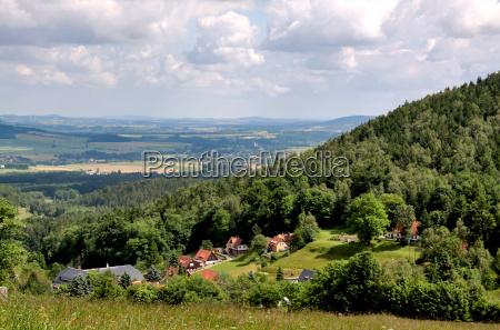 migracja wedrowac saksonia wzgorze rfn gora
