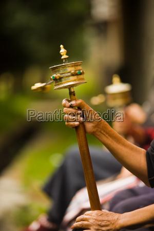 tybetanska modlitwa kolo spinning