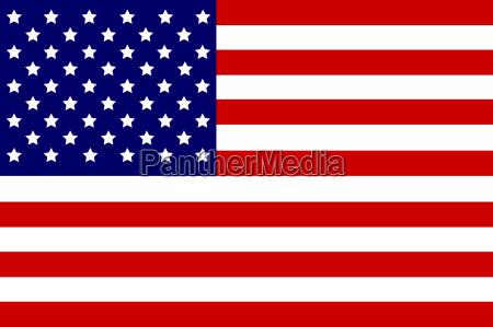 niebieski usa ilustracja flaga bandera czlonkowskich
