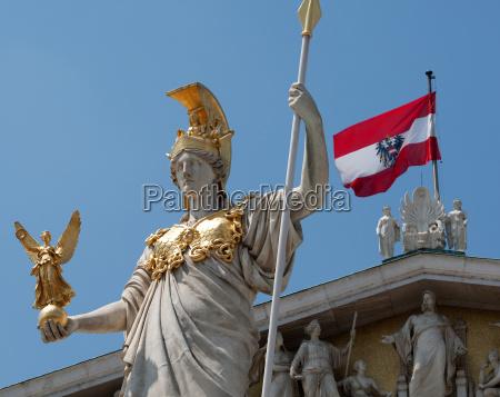 wieden austria sehenswuerdigkeit atrakcje parlament znak